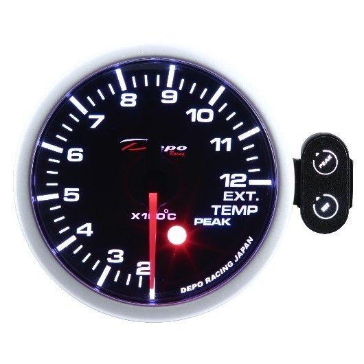 DEPO óra, műszer PK 52mm - Kipufogógáz hőmérséklet